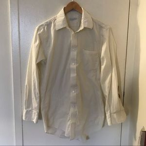 Vintage Christian Dior button up dress shirt